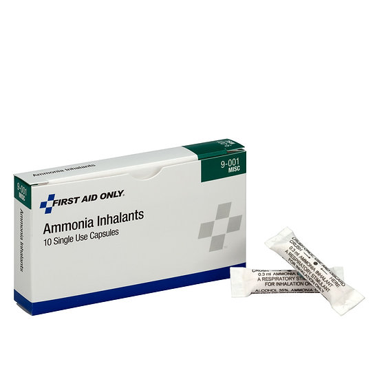 Ammonia Inhalants 10 Count 9-001-001