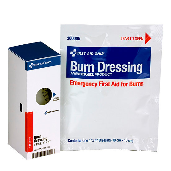 SC Refill 4inchx4inch Burn Dressing, 1/box FAE7012