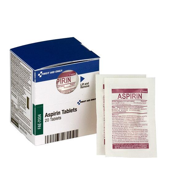 SC Refill Aspirin Tablets, 20ct FAE7004
