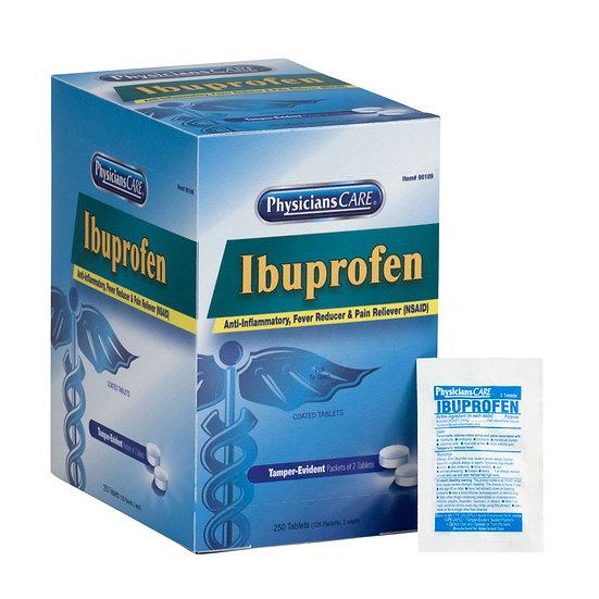 PhysiciansCare Ibuprofen, 125x2/box