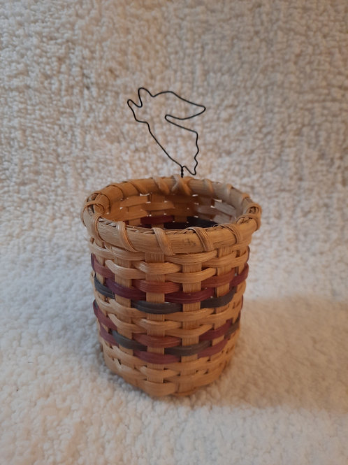 Round Angel Basket