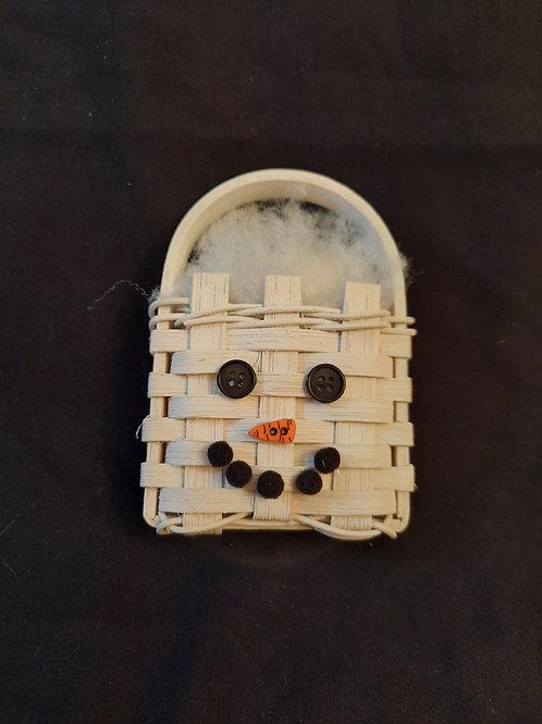 Snowman Mini Head