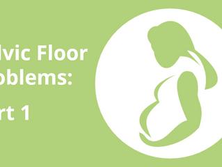 Common Pelvic Floor  Issues Part 1