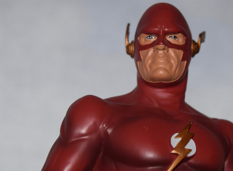 UnBoxing | Icon Heroes THE FLASH (Earth-90) Collectible Statue