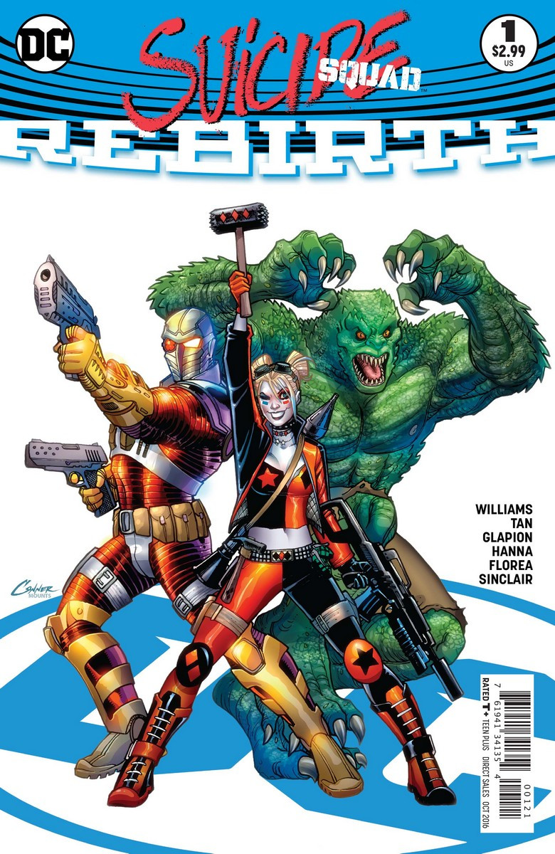 The alt-cover to Suicide Squad: Rebirth #1 on sale now.
