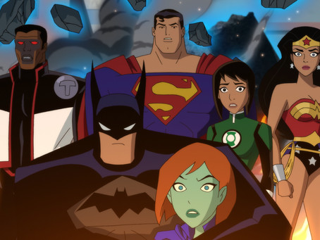 iReview | JUSTICE LEAGUE vs. THE FATAL FIVE