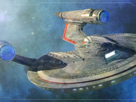 Unboxing :: USS FRANKLIN from Eaglemoss Star Trek Starships Collection