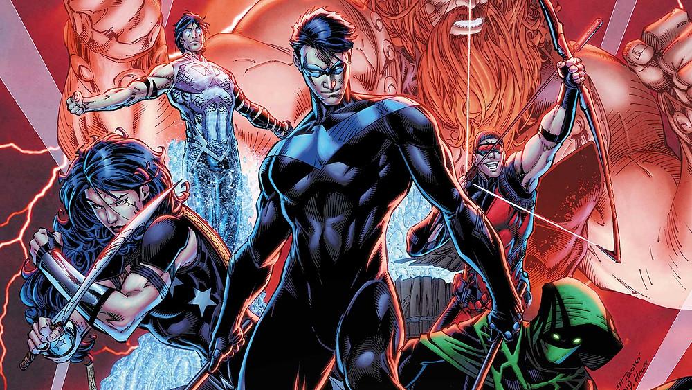 """The Titans (re)unite for """"Rebirth""""."""