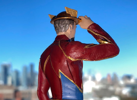 "UnBoxing | The Flash ""JAY GARRICK"" from Eaglemoss"