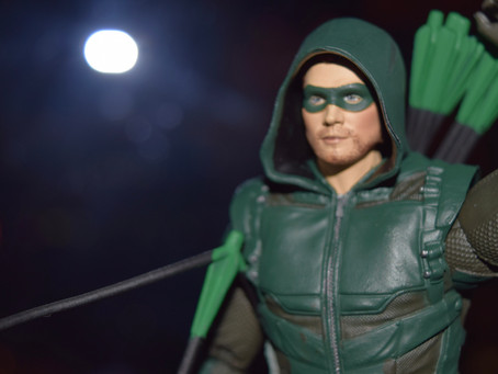 UnBoxing | DC Multiverse GREEN ARROW from McFarlane Toys