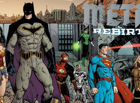 Things Are Getting DARK as DC Comics METAL Continues