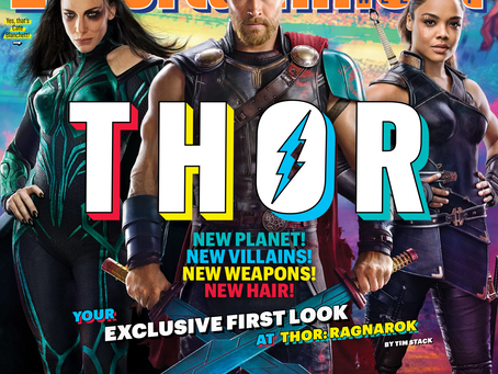 Cover-to-Cover • Entertainment Weekly's First Look at THOR RAGNAROK