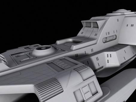 UnBoxing | Eaglemoss Collections STAR TREK Concept Ships: USS Voyager