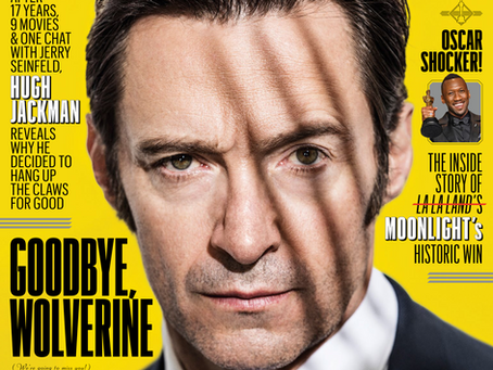 Cover-to-Cover • Entertainment Weekly features LOGAN