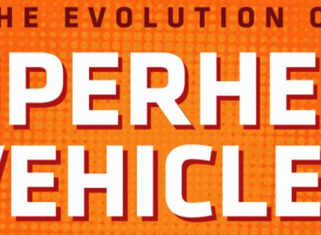 The Evolution of the Superhero Vehicle