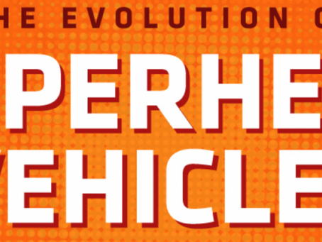 The Evolution of the Superhero Vehicle