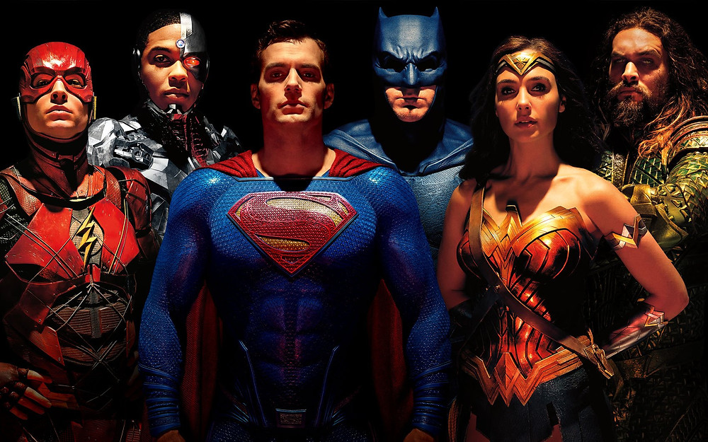 The heroes of DC Comics come alive!