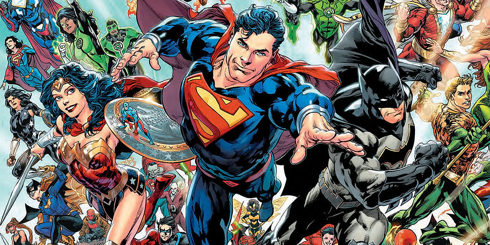 Look familiar? Old is new again as the DC heroes take on a more familiar palette.