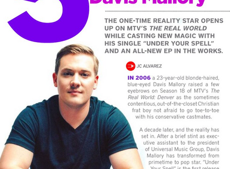 Inside EDGE :: Reality Star/Musician DAVIS MALLORY Gets Real