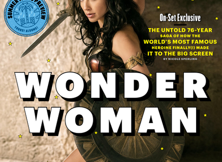 Cover-to-Cover • Entertainment Weekly features WONDER WOMAN