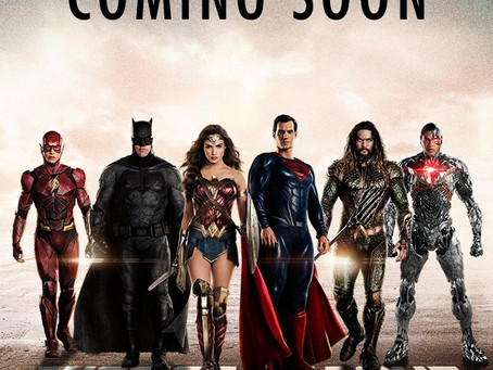 JUSTICE LEAGUE Finally United on Latest Poster!