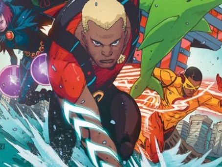"""iReview :: DC Comics Rebirth continues with TEEN TITANS #6 """"The Rise of Aqualad"""""""