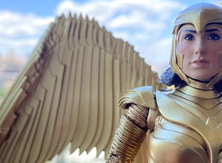 UnBoxing | WONDER WOMAN 1984 GOLDEN ARMOR Action Figure
