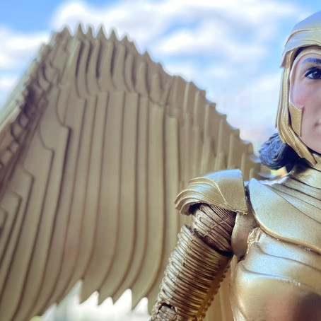 UnBoxing | WONDER WOMAN 1984 GOLDEN ARMOR Action Figure