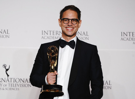Exclusive | GREG BERLANTI Receives the Founders Award from the International EMMYS® at event in NYC
