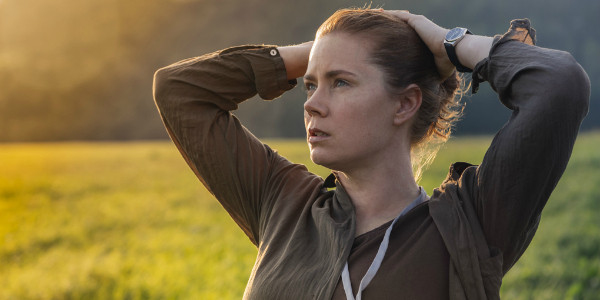 "Amy Adams stars as Louise Banks in ""Arrival""."