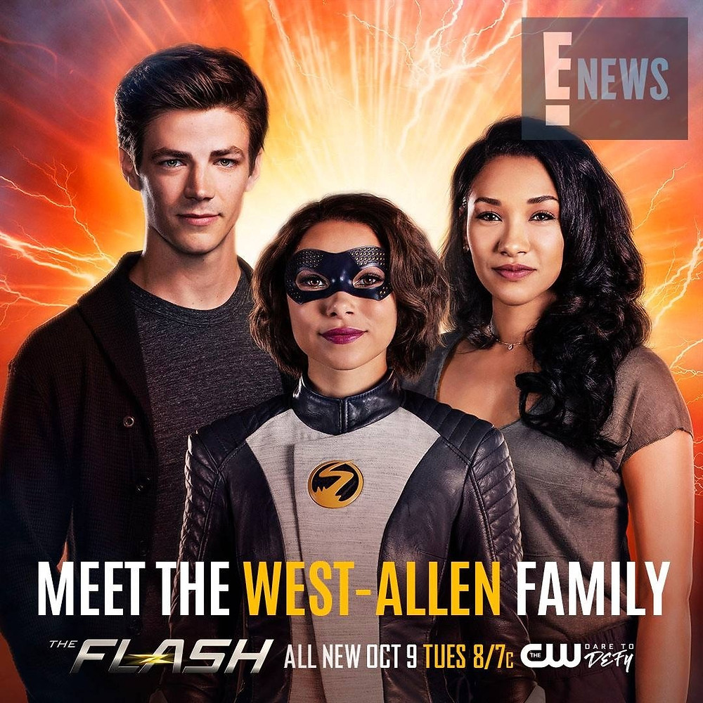 Meet the West-Allen Family! The Flash gets a new speedster!
