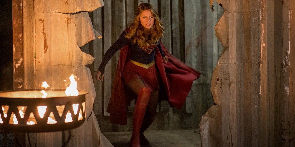 Supergirl (Melissa Benoist) finds herself in the fight of her life!