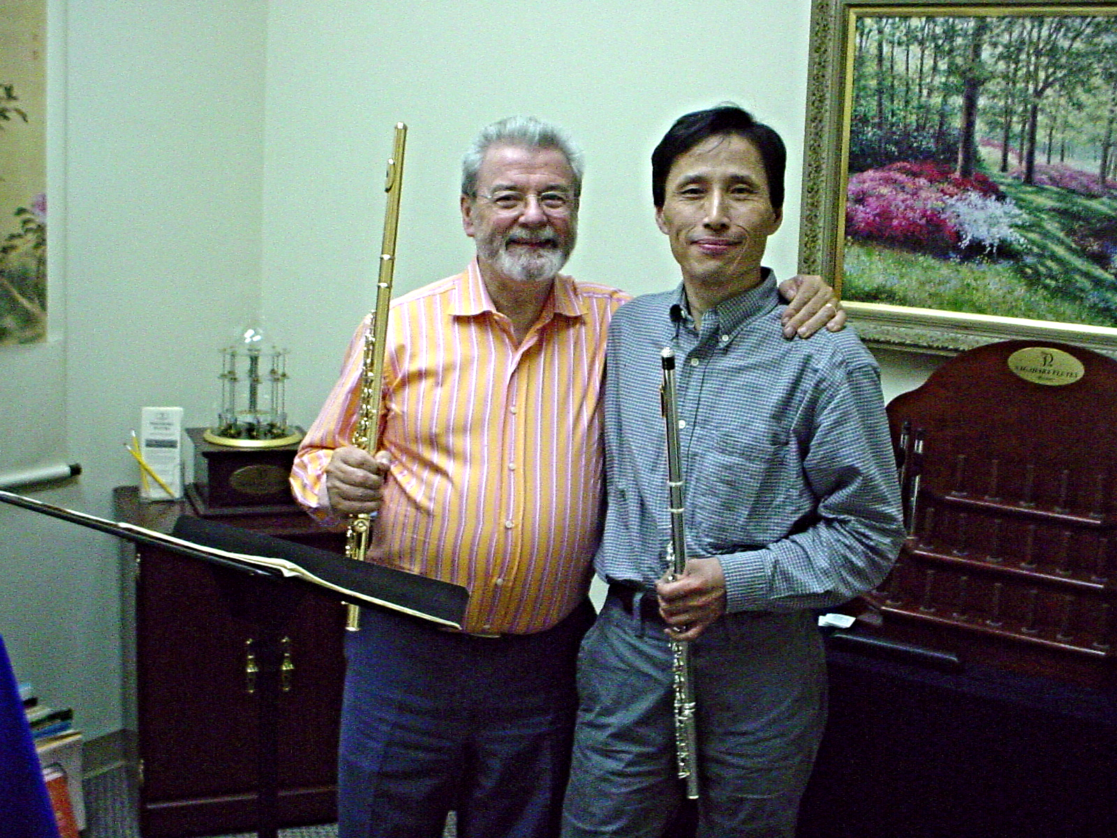 Sir James Galway & Kanichi Nagahara