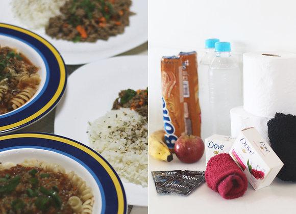 Quatro refeições + Dois kits