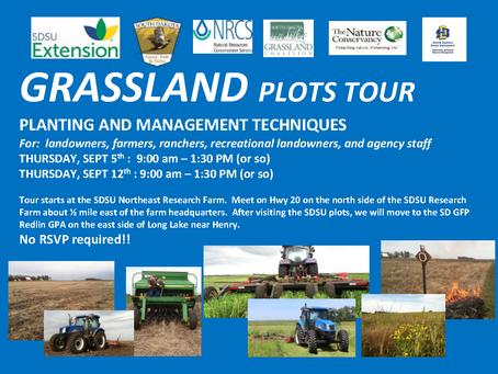 Grasslands Plots Tour