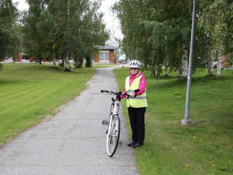 Pyöräily on Sirkka Heikkiselle rakas harrastus