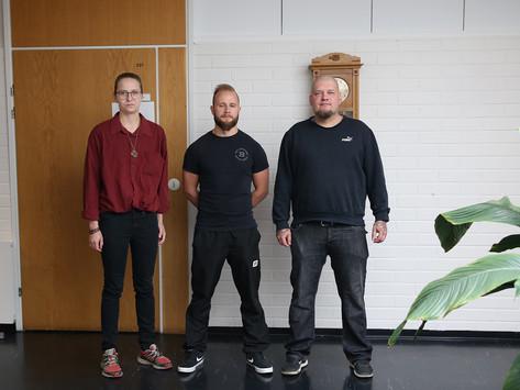 Eeva Väyrynen, Toni Haapala ja Jarkko Kyllönen tuovat valtuustoon nuorta näkemystä