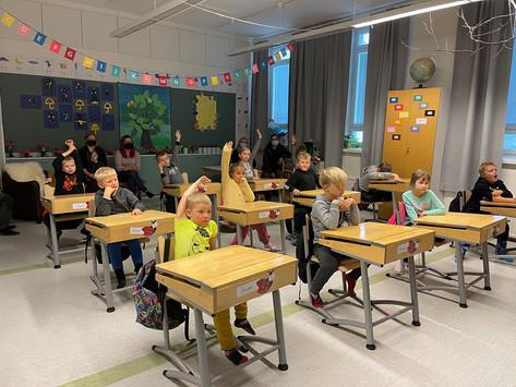 Kodin ja koulunpäivä on tärkeää kodin ja koulun yhteistyölle