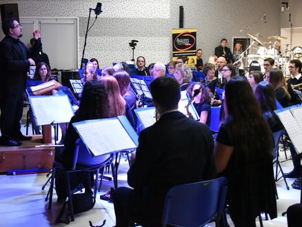 5 Gennaio 2016: Orchestra Fiati in Concerto a Pozzolengo (BS)