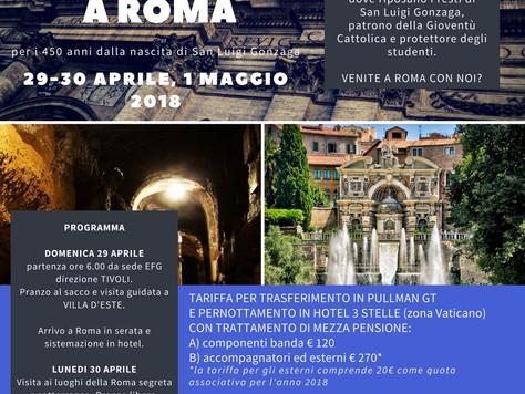 Concerto e Viaggio a Roma: 29 aprile - 1 maggio 2018