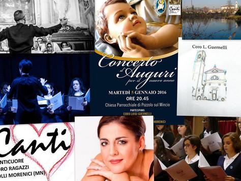 5 gennaio 2016: Canticuore in concerto