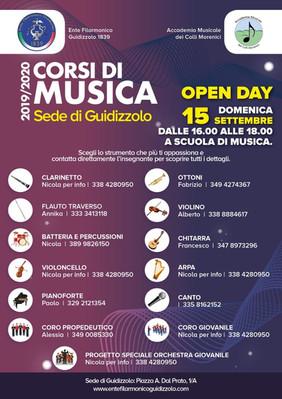 Open day scuola di musica!