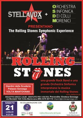 Sabato 21 luglio 2018: The Rolling Stones Simphonic Experience
