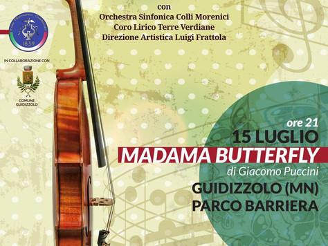 Venerdì 15 Luglio: Madama Buttefly in scena a Guidizzolo