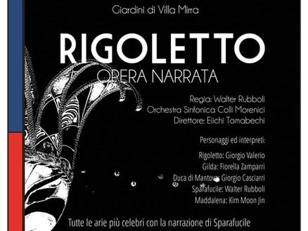 Domenica 18 giugno: RIGOLETTO
