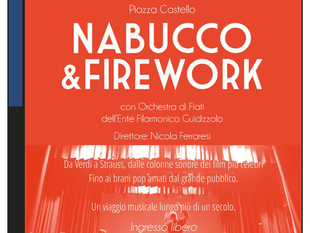 Domenica 25 Giugno: Nabucco&Firework a Solferino