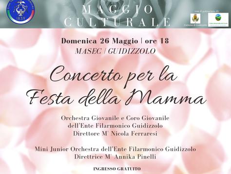 Domenica 26 maggio 2019: Concerto per la Festa della Mamma