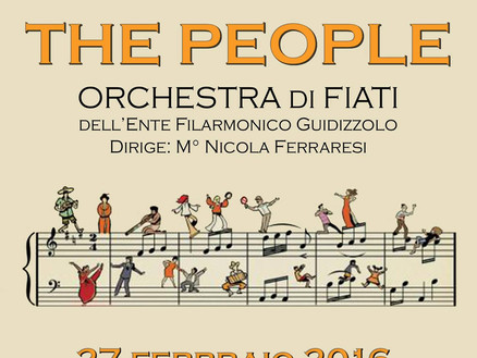 27 Febbraio: Music of the People (Guidizzolo)