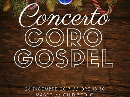 26 dicembre 2017: concerto Coro Gospel