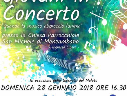 Domenica 28 gennaio: Giovani in concerto a Monzambano